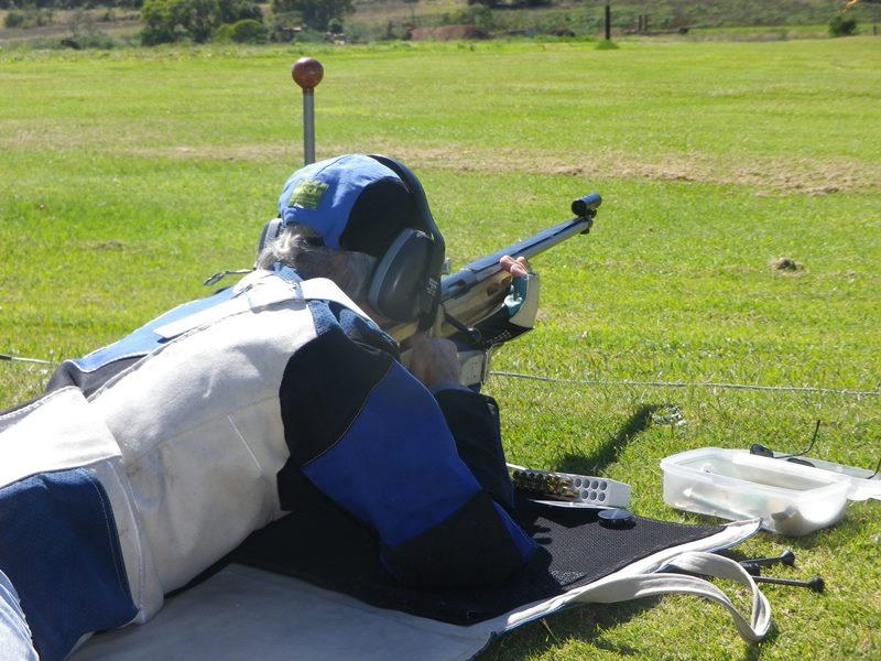 Des takes aim at 600 yards