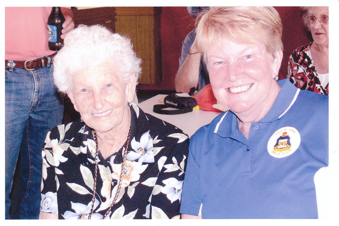 Dot Davison Life Member & Daughter Carol Richardson.